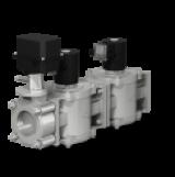 блок электромагнитных клапанов с дроссельной заслонкой